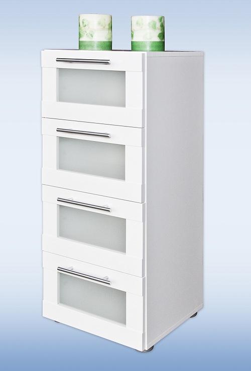 badm bel badkommode kommode badschrank hochschrank mod b008 hochglanz weiss ebay. Black Bedroom Furniture Sets. Home Design Ideas