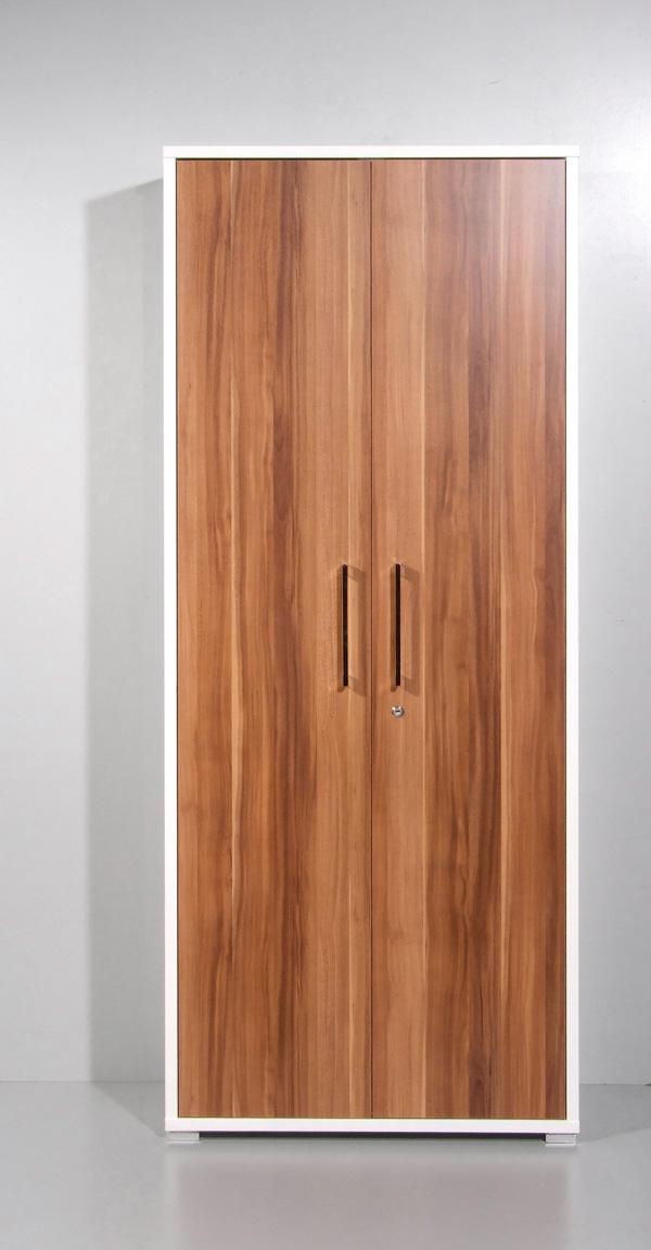 aktenschrank mehrzweckschrank schrank b ro abschlie bar weiss walnuss anthrazit ebay. Black Bedroom Furniture Sets. Home Design Ideas