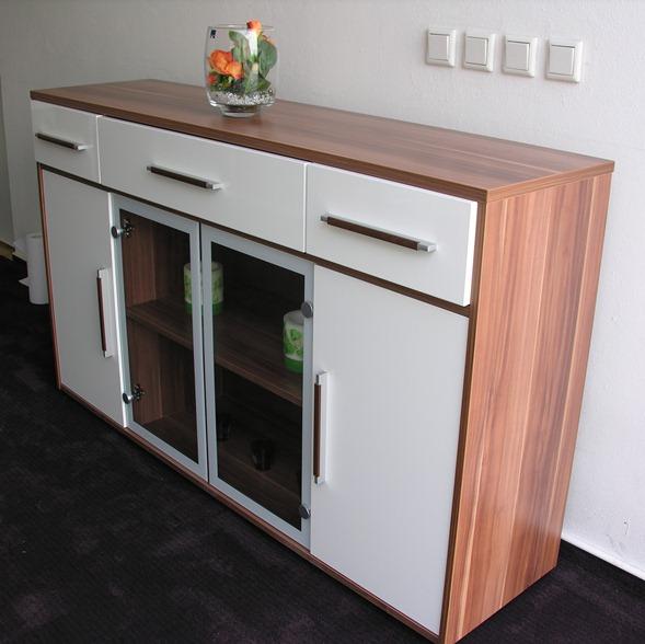 sideboard kommode aktenschrank schrank mod k376 merano. Black Bedroom Furniture Sets. Home Design Ideas