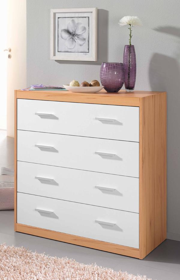 kommode schubladen schrank schubladenkommode mod k364. Black Bedroom Furniture Sets. Home Design Ideas