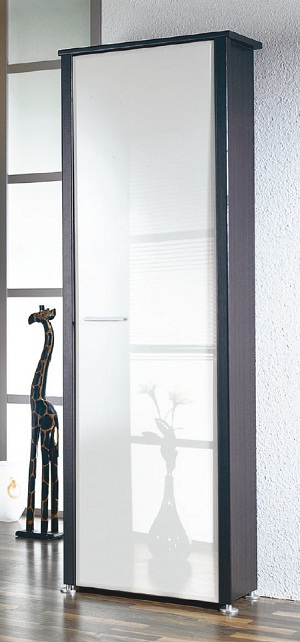 garderobenschrank kleiderschrank schrank garderobe mod so115 wenge weiss hgl ebay. Black Bedroom Furniture Sets. Home Design Ideas