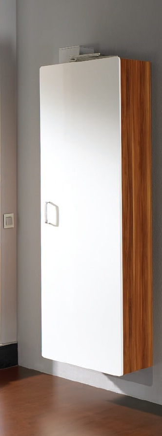 h nge garderobenschrank kleiderschrank garderobe schrank mod so114 weiss walnuss ebay. Black Bedroom Furniture Sets. Home Design Ideas
