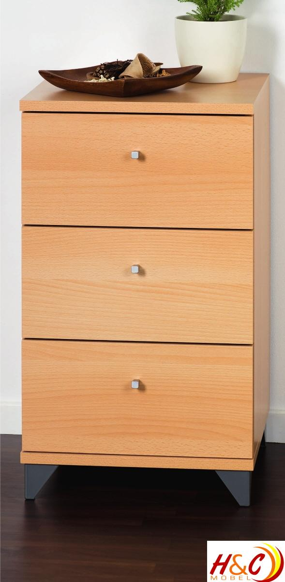 Kommode Highboard Schrank Schublade Mod.K253 Buche