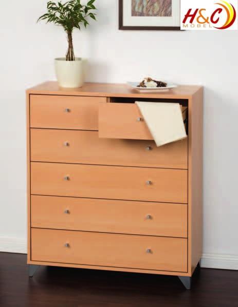 kommode highboard schrank schublade mod k253 buche ebay. Black Bedroom Furniture Sets. Home Design Ideas
