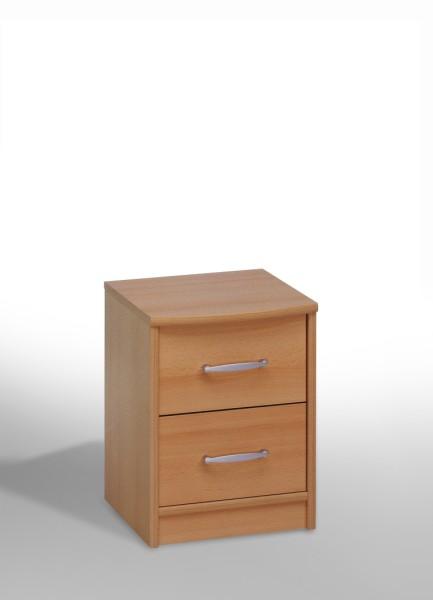 nachtschrank nachttisch nachtkonsole nachtkommode buche wei schwarz nussbaum ebay. Black Bedroom Furniture Sets. Home Design Ideas