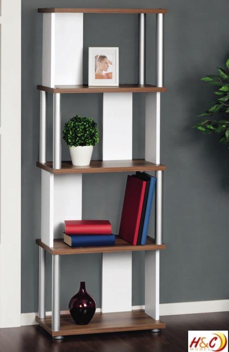 aktenregal regal b cherregal r363 nussbaum weiss ebay. Black Bedroom Furniture Sets. Home Design Ideas