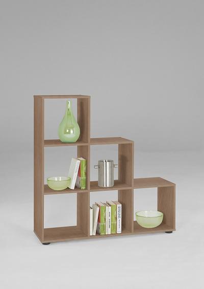 raumteiler aktenregal regal b cherregal regalwand mod r382 noce ebay. Black Bedroom Furniture Sets. Home Design Ideas