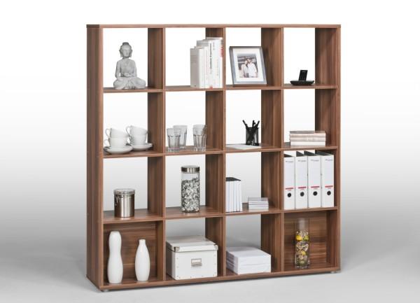 raumteiler regal nussbaum prinsenvanderaa. Black Bedroom Furniture Sets. Home Design Ideas