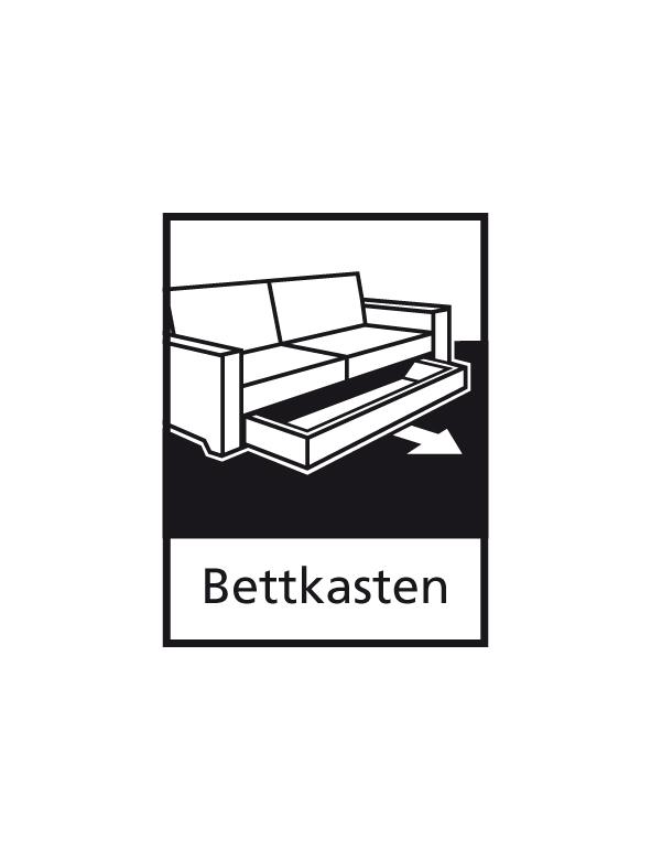 schlafsofa funktionssofa sofa querschl fer mod l100 blau. Black Bedroom Furniture Sets. Home Design Ideas